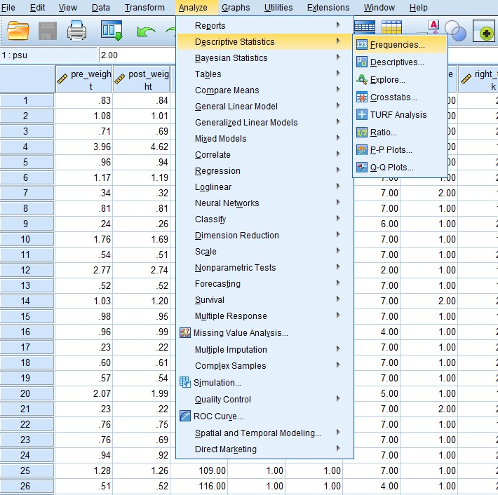 Logistic Regression in SPSS